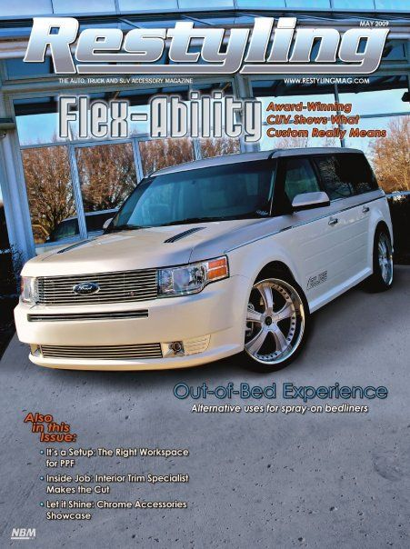 Bay Street Edition Ford Flex By Rick Bottom Designs Ford Sema Design Award Winner Ford Flex Custom Cars Cool Cars