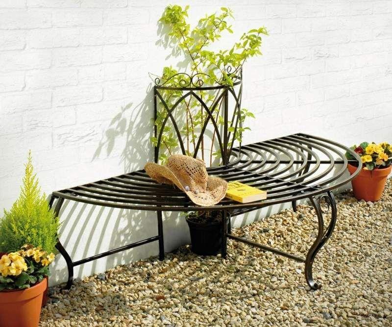 Кованая мебель для сада: 15 идей. Красивые интерьеры и дизайн