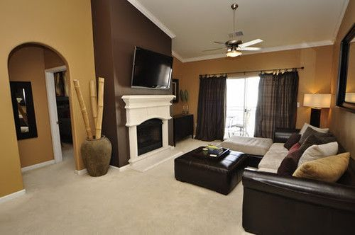 Warm Neutral Colors For A Living Room Contemporary Paint Colors