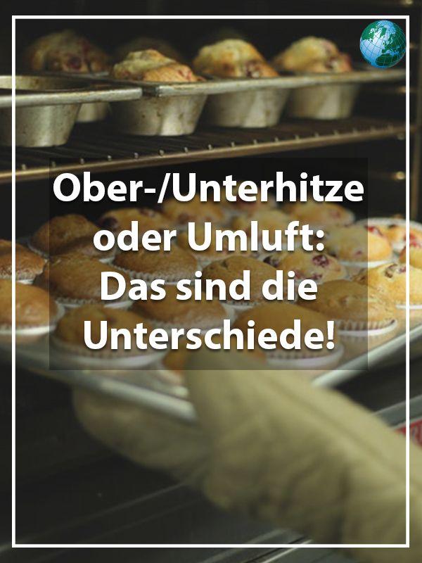 Ober-/Unterhitze oder Umluft: Das sind die Unterschiede #cookingtips