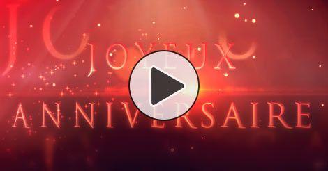 jolie carte d anniversaire animée Une jolie carte virtuelle | Vidéo joyeux anniversaire, Minions