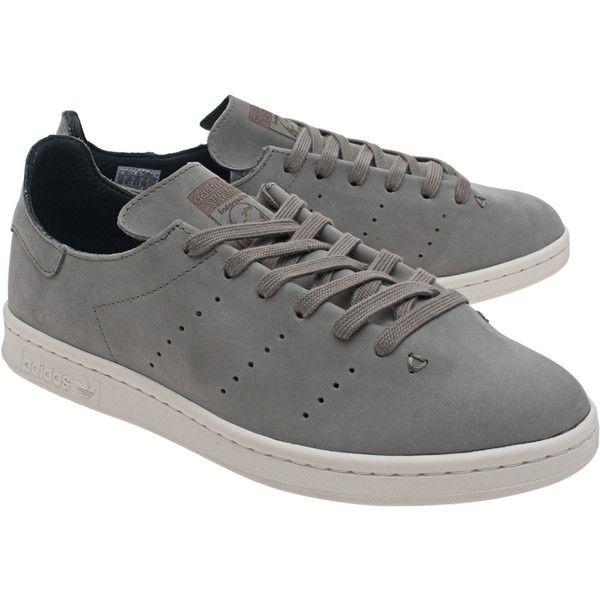 Adidas originali stan smith lea sock tracar / / pelle pulita