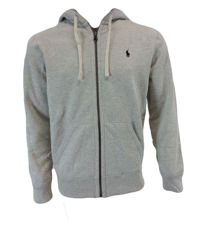 Polo Ralph Lauren Classic Fleece Hoodie Jacket for Men M