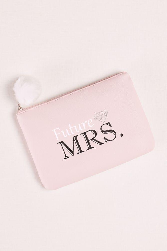 Future Mrs. Wristlet with Pom Style 966023FMDB