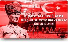 Image result for 19 mayıs Gençlik ve Spor Bayramı
