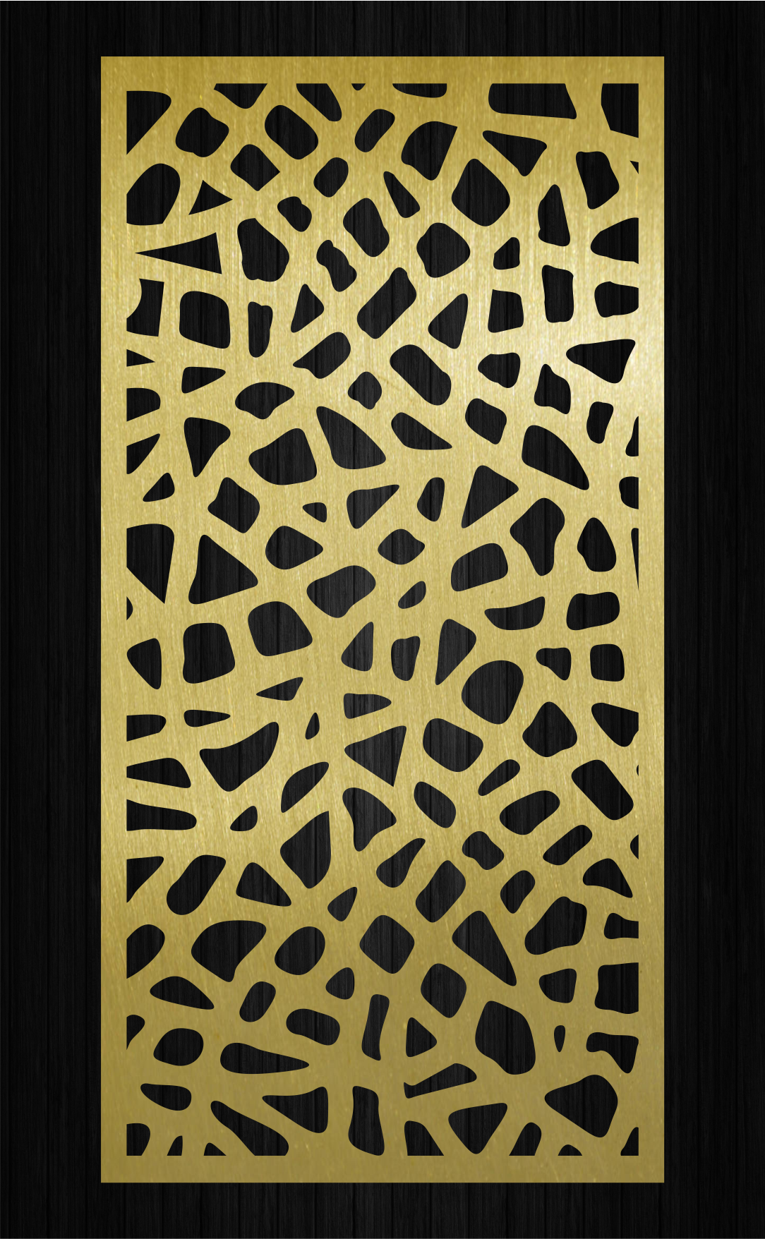 Decorative ornamental panel.Room divider.Decor wall panels.Interior ...