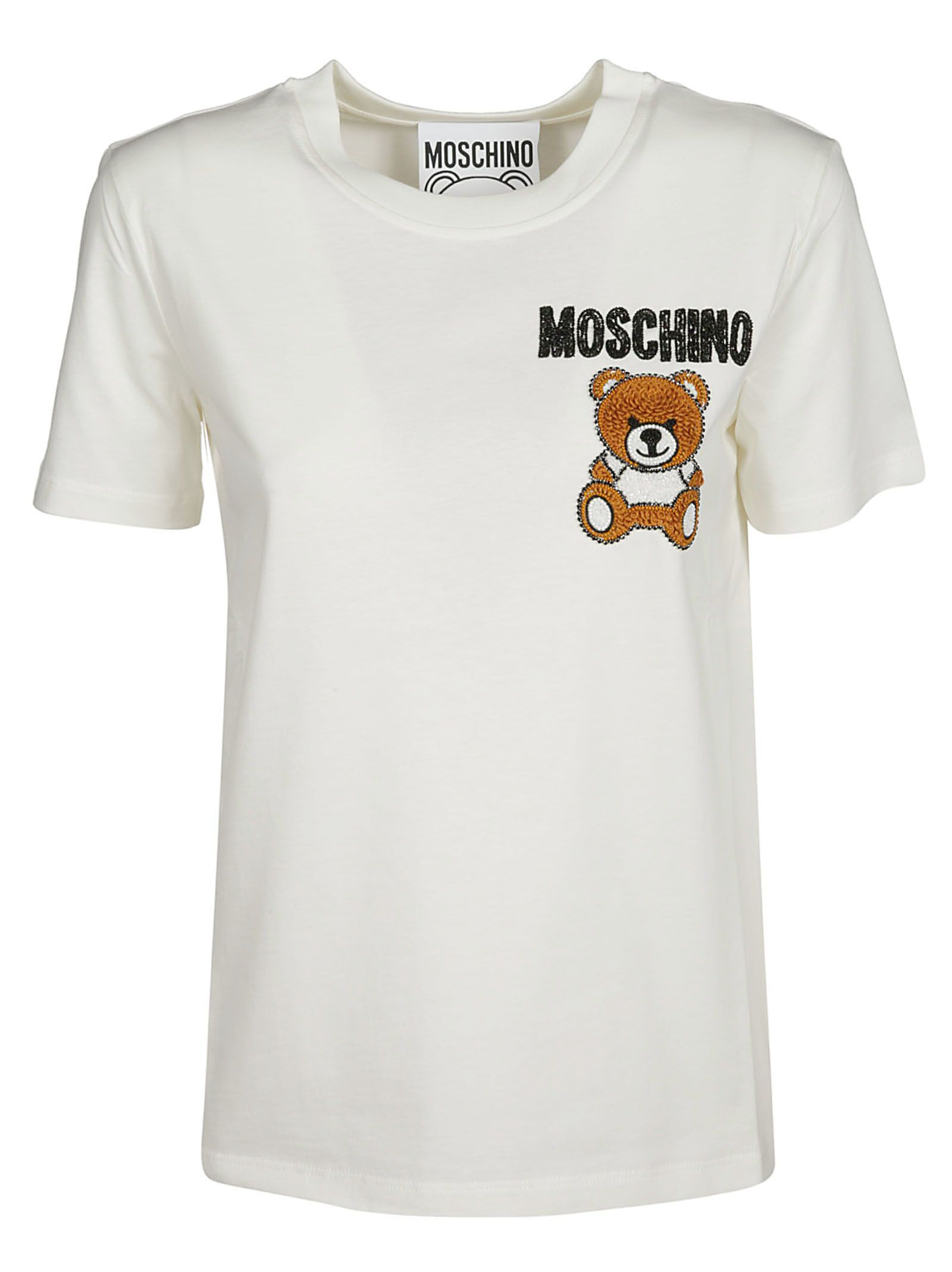 f162708c MOSCHINO EMBROIDERED T-SHIRT. #moschino #cloth | Moschino in 2019 ...