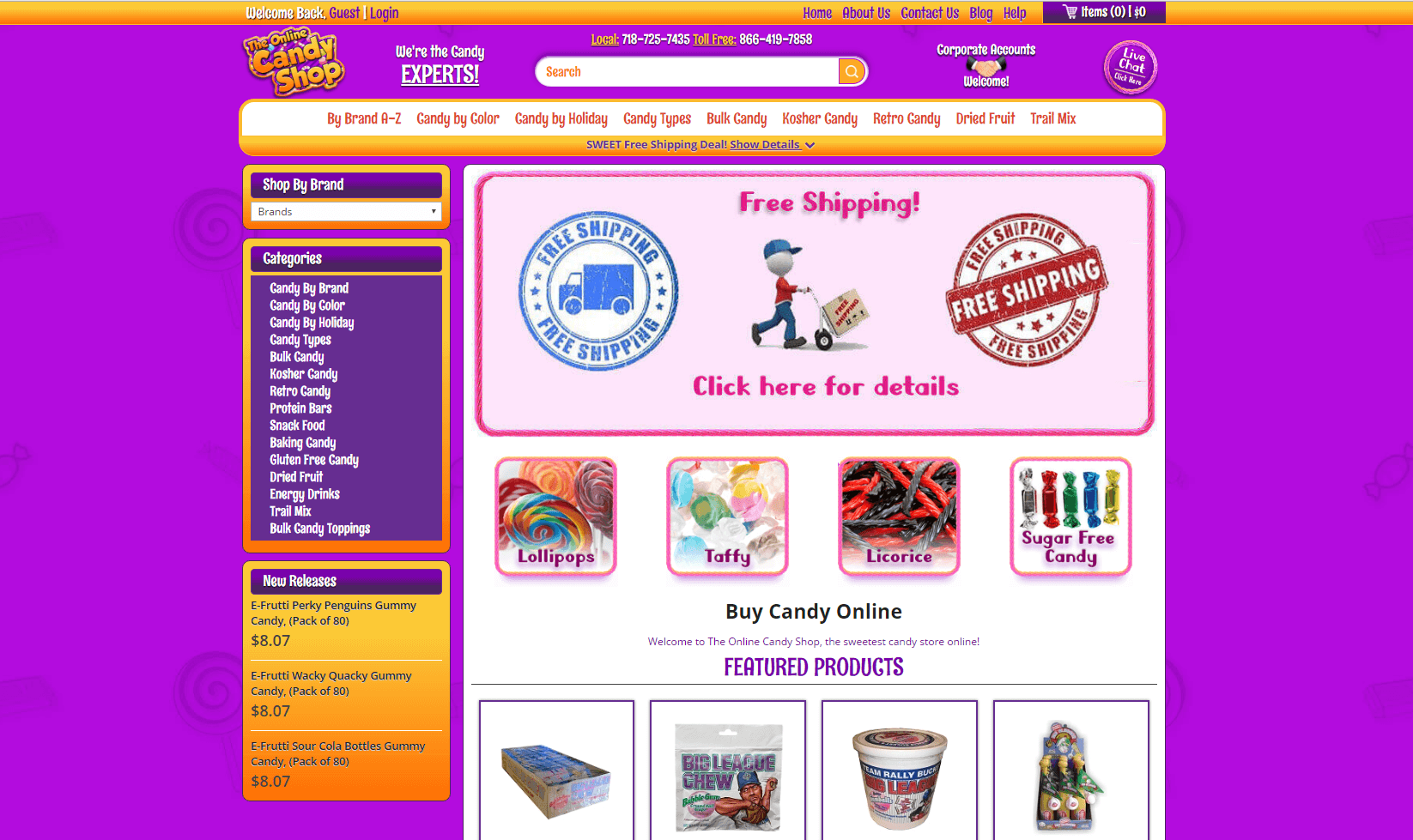 A List of Best Place to Buy Candy Online | Candy online, Perfect ...
