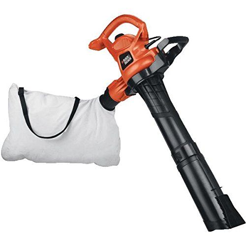 Super Vac N Mulch Electric Blower 12a Motor Provides Air Speeds Up To 230 Mph Mile Per Hour Vortex Vacuum Sys Black Decker Electric Leaf Blowers Blowers