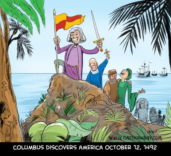 Happy Columbus Day 2012 Happy Columbus Day Columbus Day Cartoon