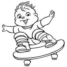 does your kid like the chipmunks called alvin simon theodore now you can coloring pages