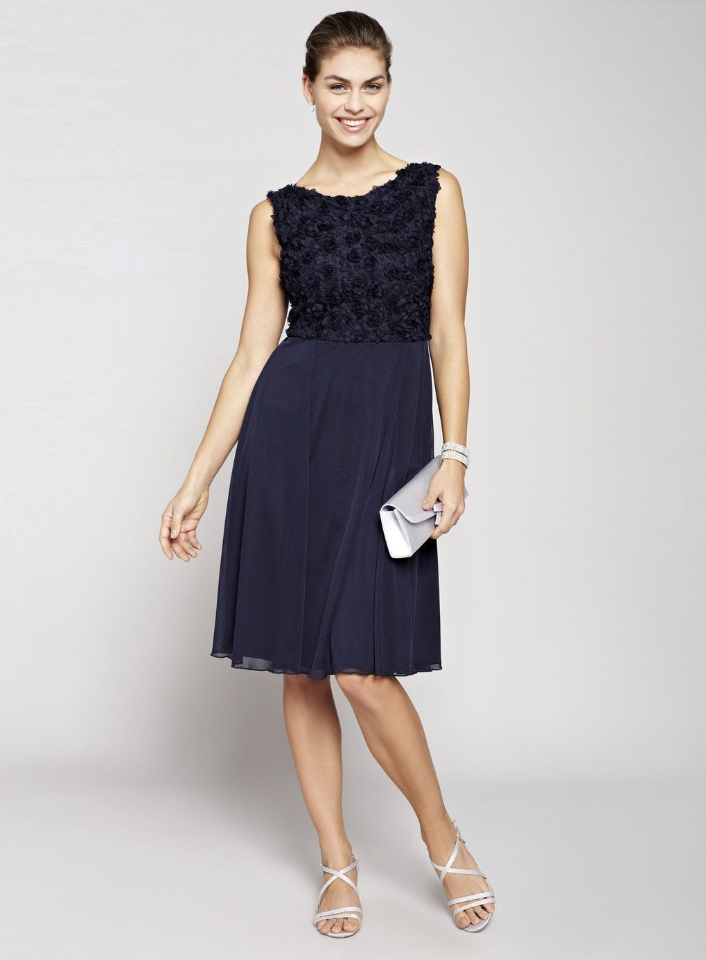 Navy blue bridesmaid dresses are perfect for any wedding, no matter what the season. Your girls will appreciate your choice of a classic and flattering shade. The hue offers all the comforts of a forgiving black dress, with a little more versatility.