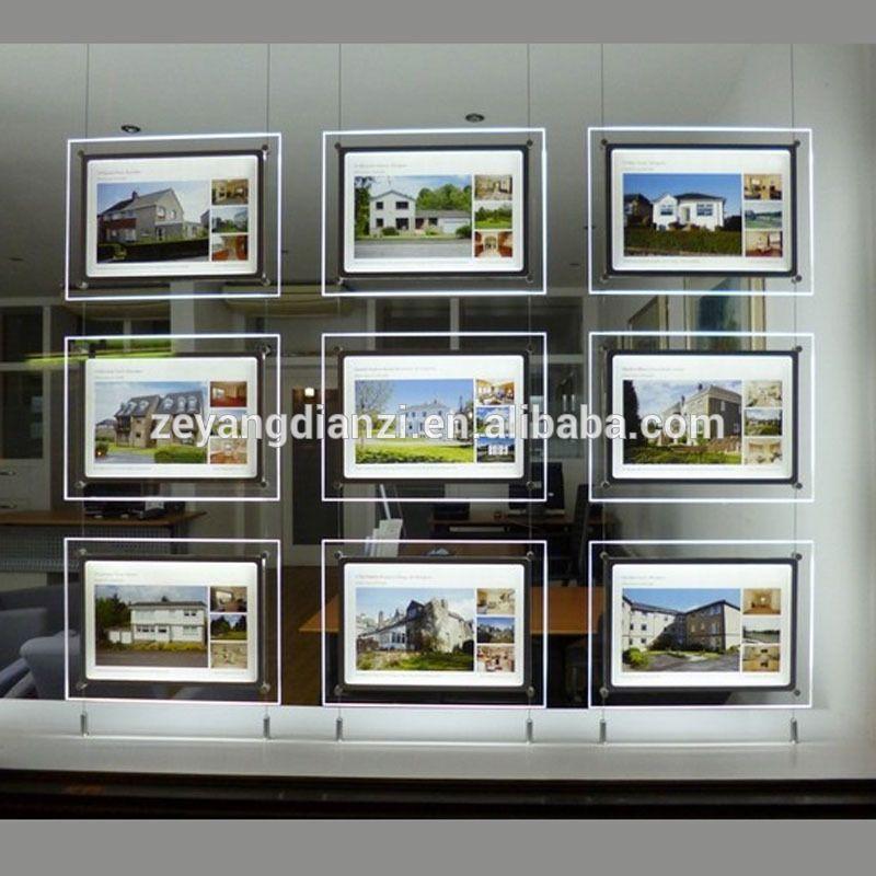 advertising led light box acrylic window display supplies,light display cable