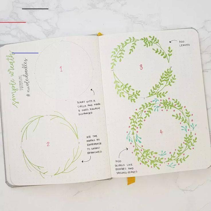 Photo of Bullet Journal Layout-Ideen für Neulinge und Experten Gekritzelkranz, wie man für Bul …
