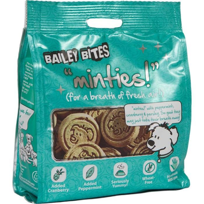 Bailey Bites Minties 1 X 200g Dog Treats Listing In The Crunchy Biscuits Treats Dogs Pets Home Garden Category On Ebid United Ki Dog Treats Wheat Free Treats