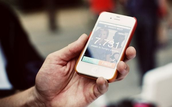 charity miles app lets you work on your fitness while helping a favorite charity really