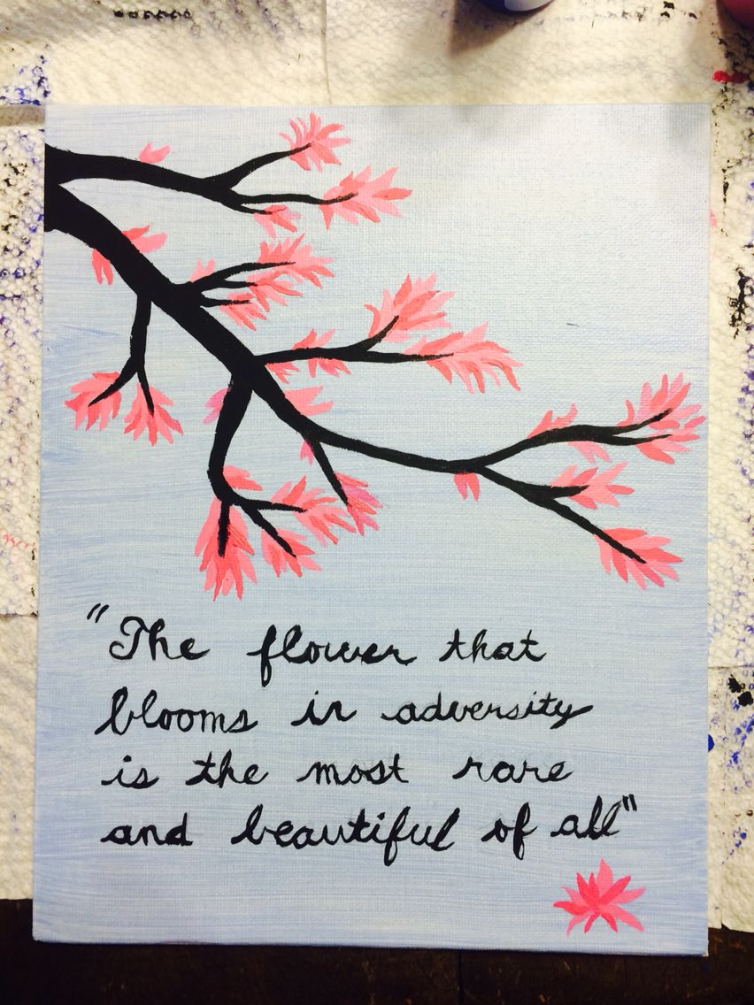 8x10 Disneys Mulan quote canvas painting for sale $17