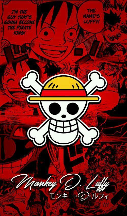Logo Luffy One Piece Wallpaper Iphone Manga Anime One Piece One Piece Luffy