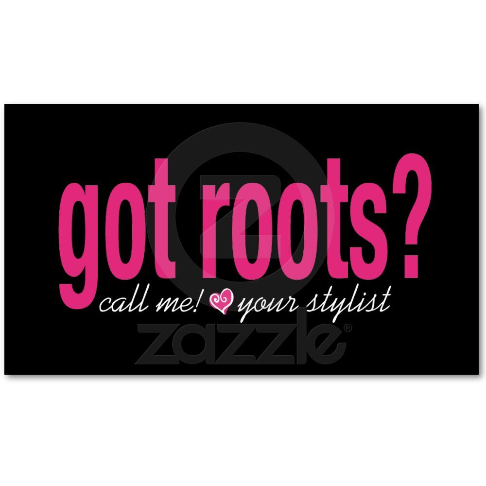 Got Roots? Card | Pinterest | Roots, Business cards and Business