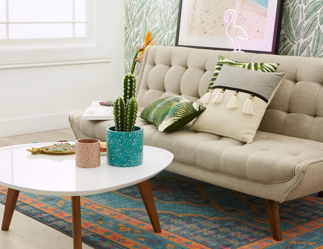 Miloh beige sofabed in home sweet home pinterest sofa