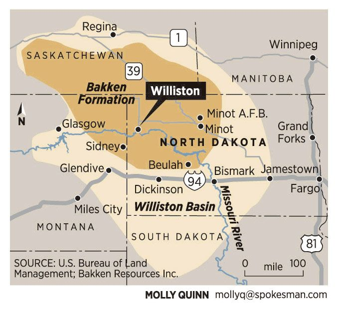 Williston NDwhere the oil is and the jobs are Where rent is