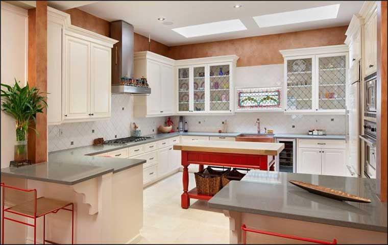 123 Breathtaking U-Shaped Kitchen Designs sallen777 Kitchen