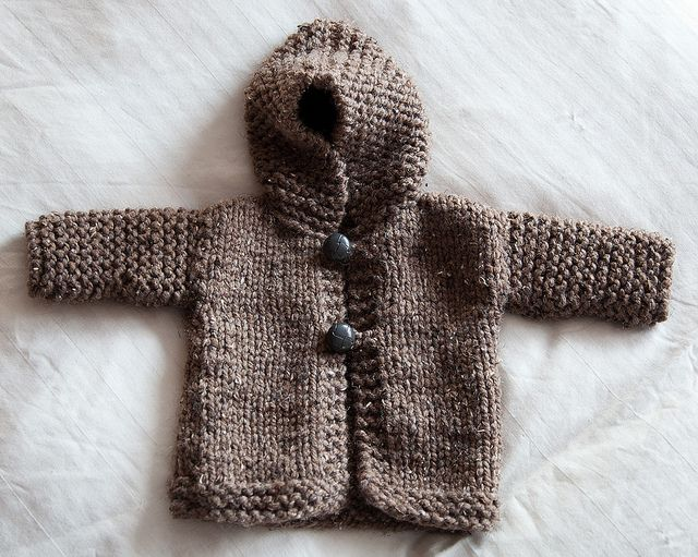 Chunky Hoodie By Vicki Knitorious Via Flickr Knit Love Babies