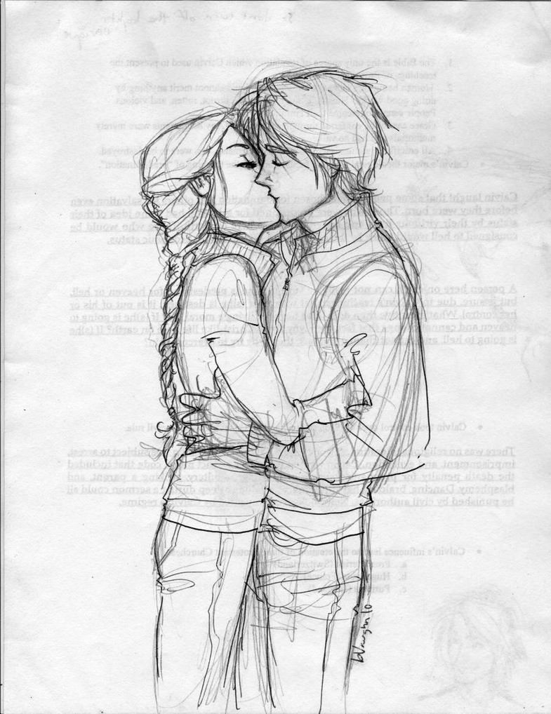 Discover ideas about drawings of couples kissing