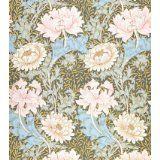 Chrysanthemum wallpaper, by William Morris (Print On Demand)