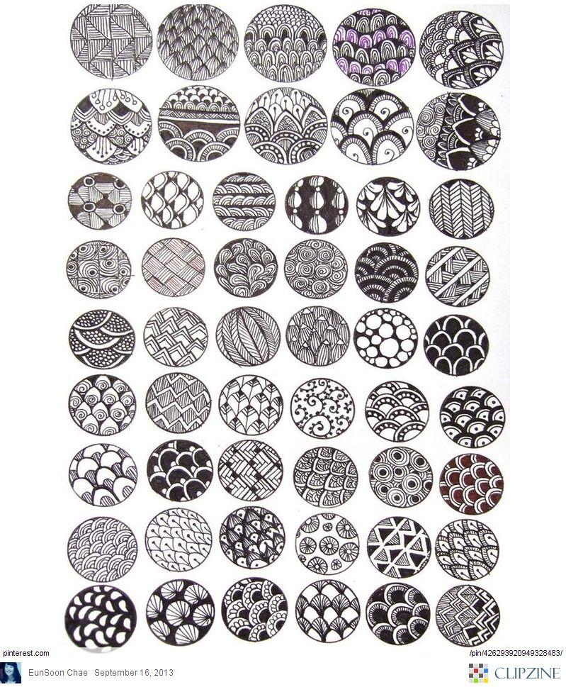 Zentangle on pinterest tangle patterns zentangle for Designs for doodle art