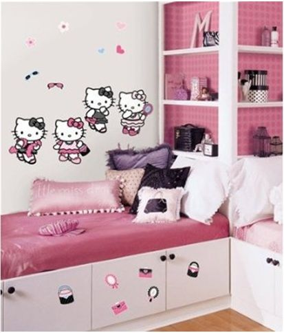 23 Most Popular Hello Kitty Bedroom Decoration that Delight and Wow