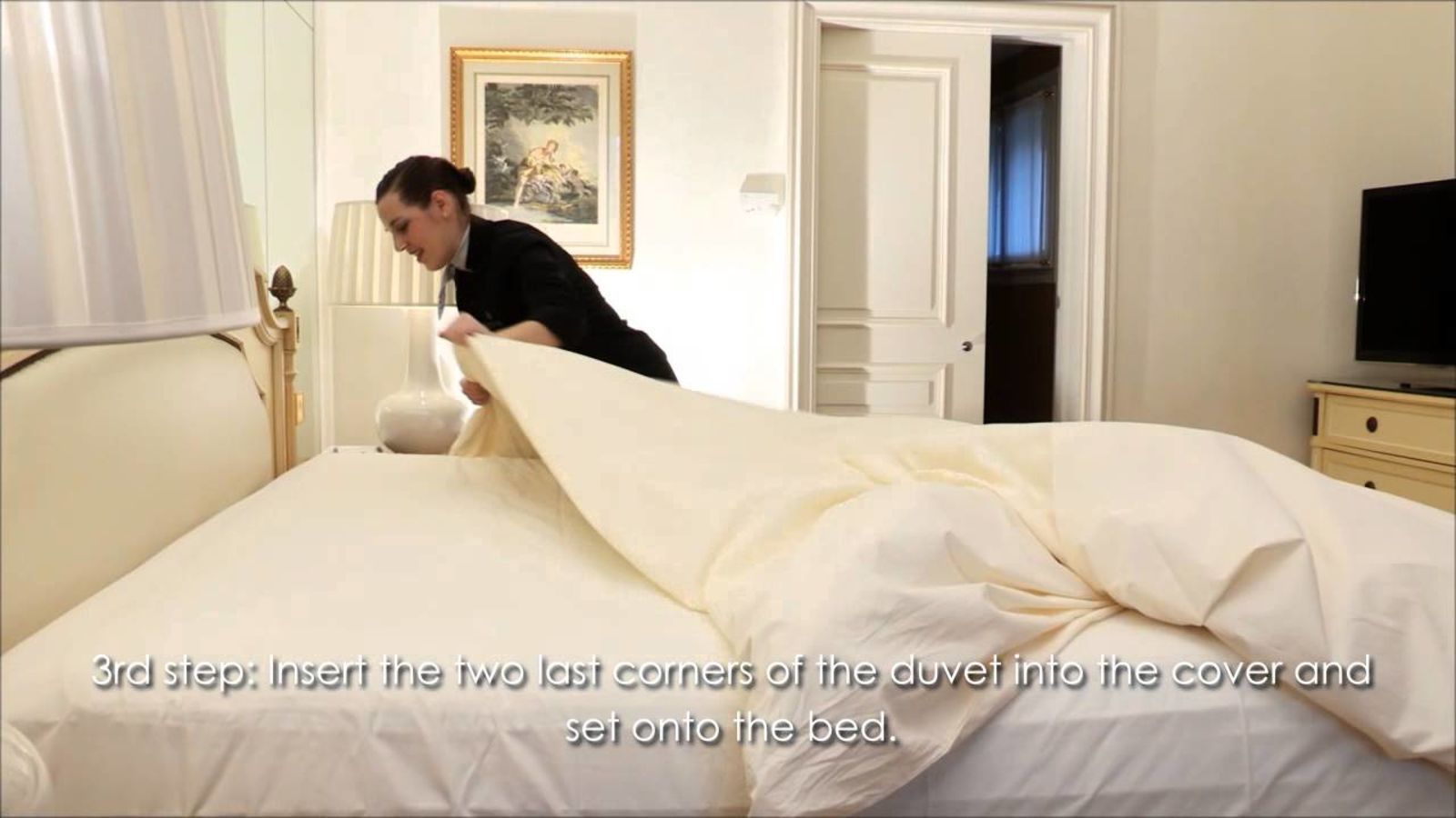 Make Your Bed Like a Pro with This Video from the Four