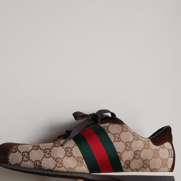 1ac2c50b2ce I just discovered this while shopping on Poshmark  Gucci Sneakers. Check it  out!