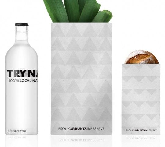 Try Nature Packaging Design