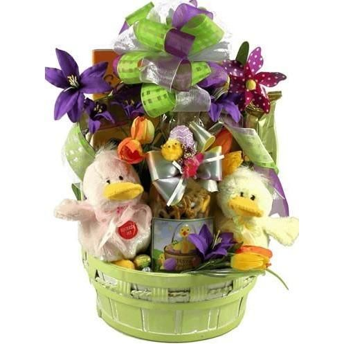 Buy just ducky easter gift basket with quacking ducks free just ducky easter gift basket with quacking ducks free shipping negle Images