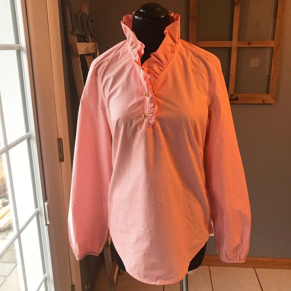 "Merona NWT Chino Neon Orange Screen Print Poly Cotton Dress Shorts 6 3/"" Inseam"