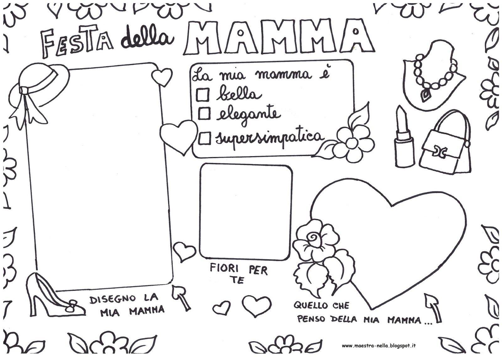 Maestra nella lavoretti per bambini lavoretti mamma for Maestra gemma schede inverno