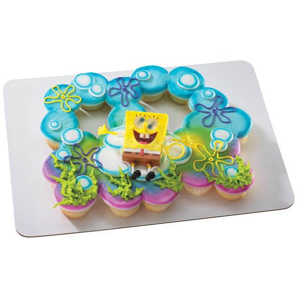 SpongeBob Ticklepants (24 Cupcake Servings) Pull-A-Part