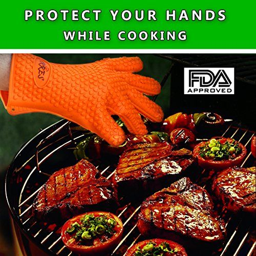 Barbecue Gloves Pulled Pork Claws Set Silicone Heat Resistant