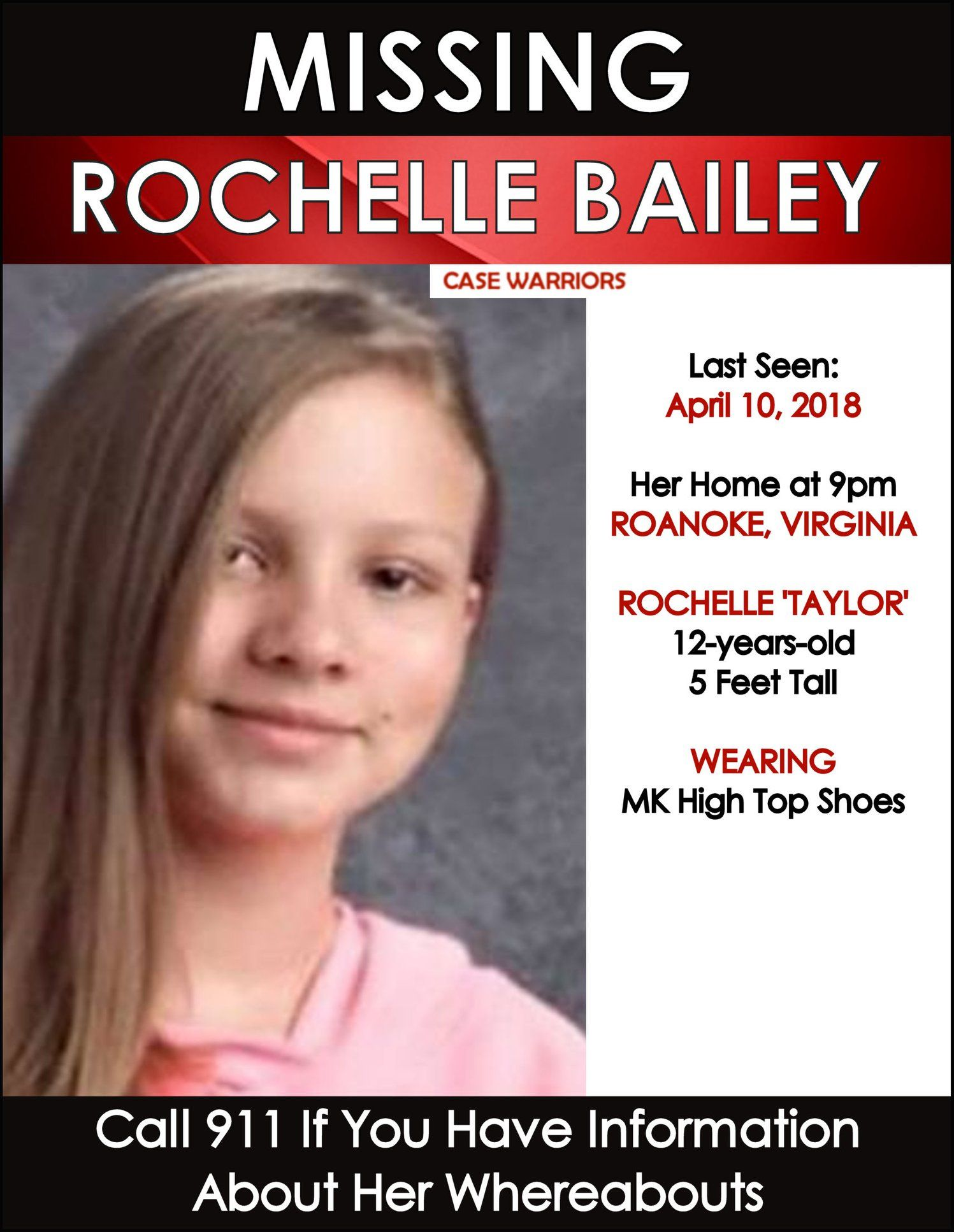 Missing Persons Posters Find Missing Rochelle Taylor Bailey  Missing People  Pinterest .