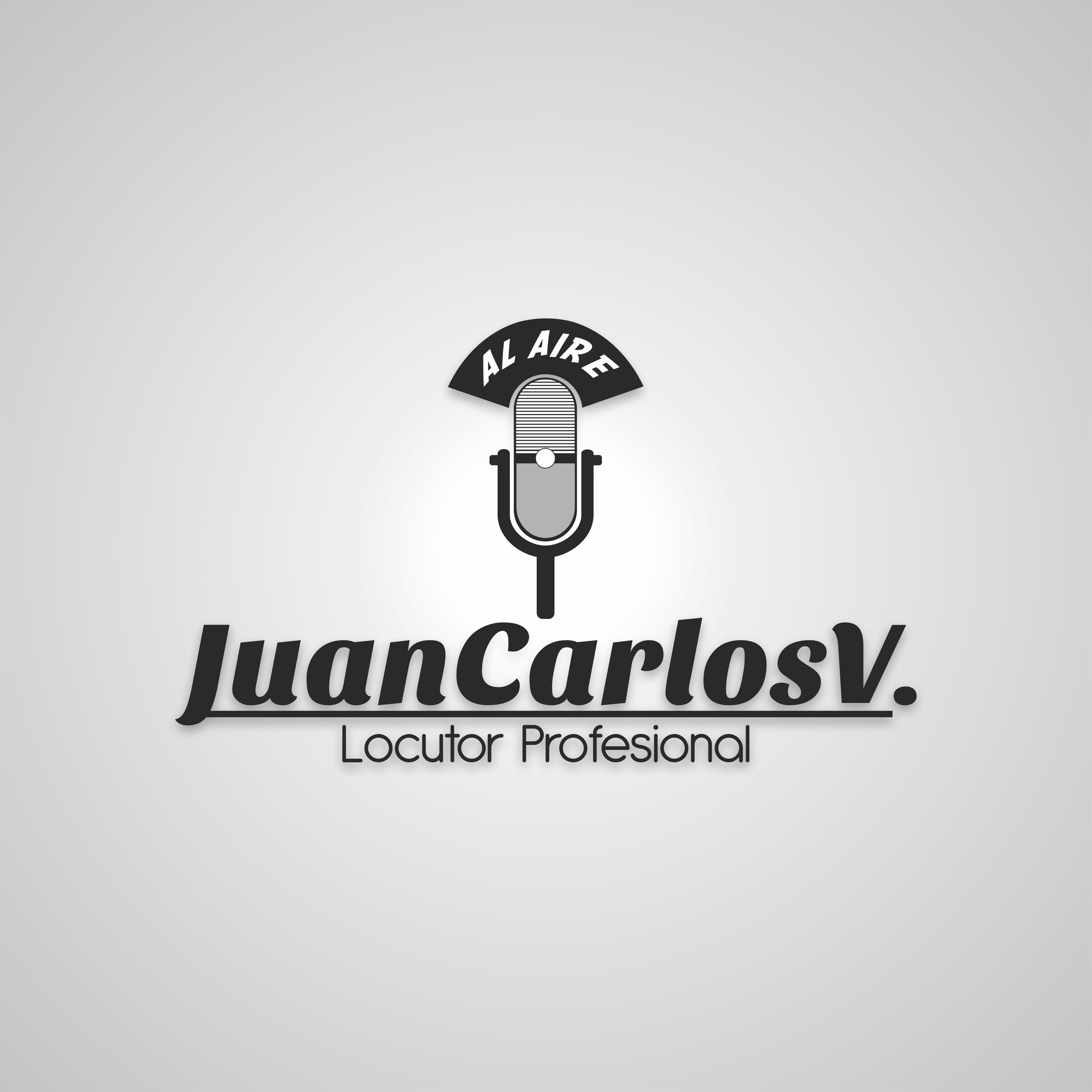 """Diseño de logo para Juan Carlos """"Locutor de Radio"""" Home"""