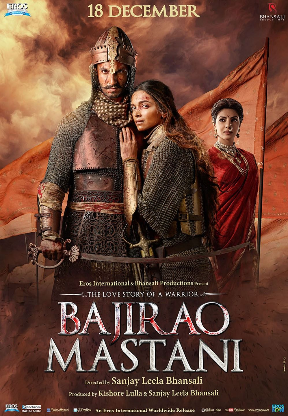 Return to the main poster page for Bajirao Mastani (2 of