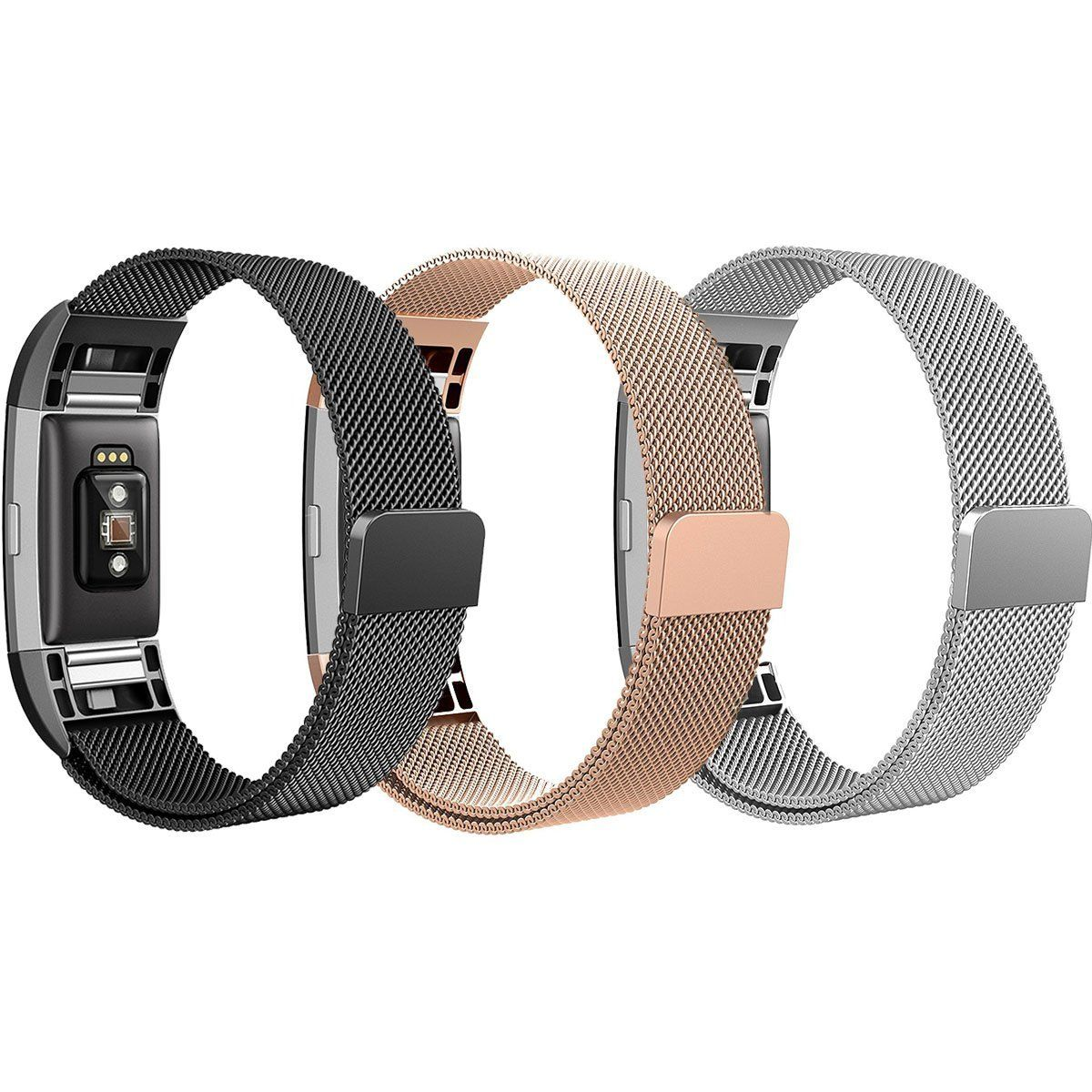 Amazon fitbit charge bands sailfar pack magnetic clasp