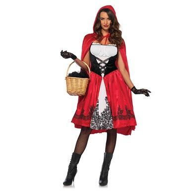 Womens Classic Red Riding Hood Costume