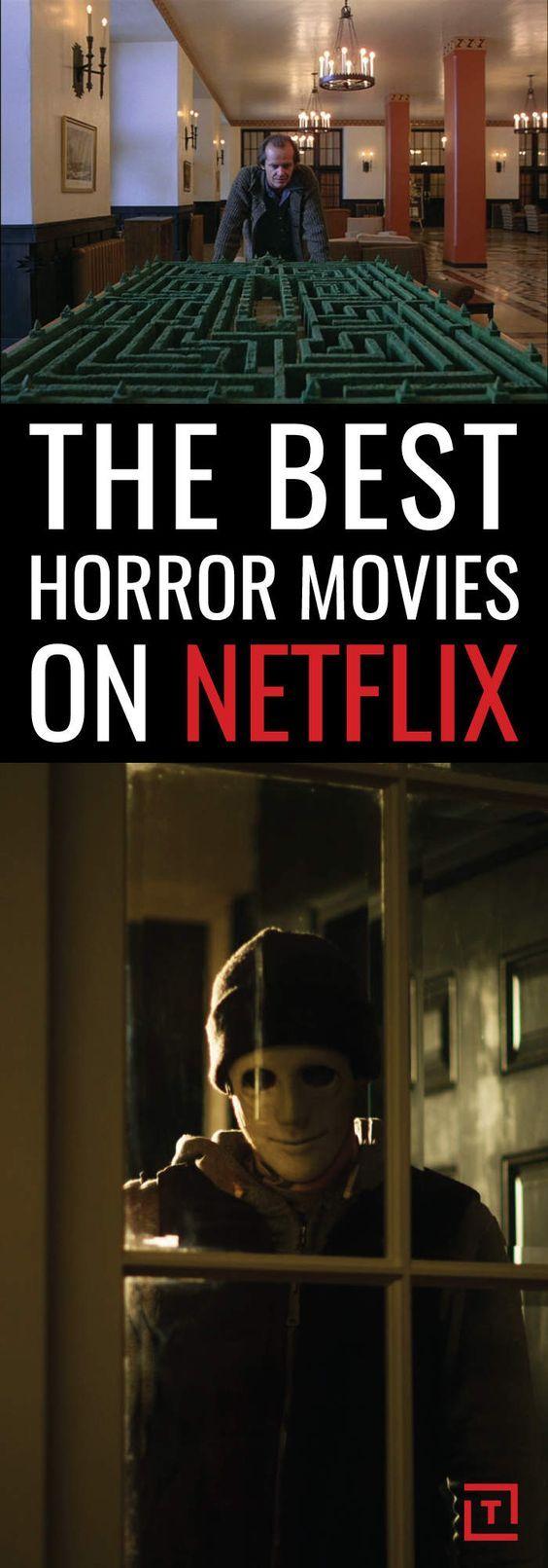 the best horror movies on netflix | tv | pinterest | films, horror