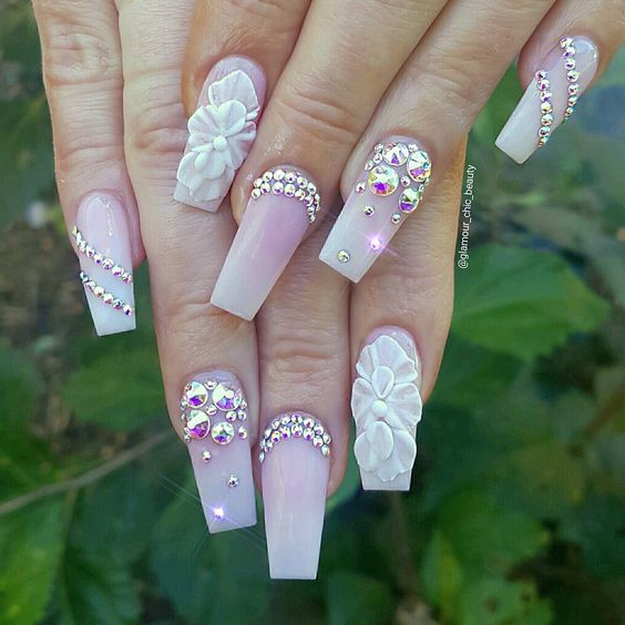 elegant classy nail art designs | summer best 2017 | coffin ...