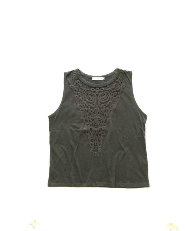 923b514f92 Pinterest Mode Broderie Femme Vinted Top Undiz Noir qRYw0I