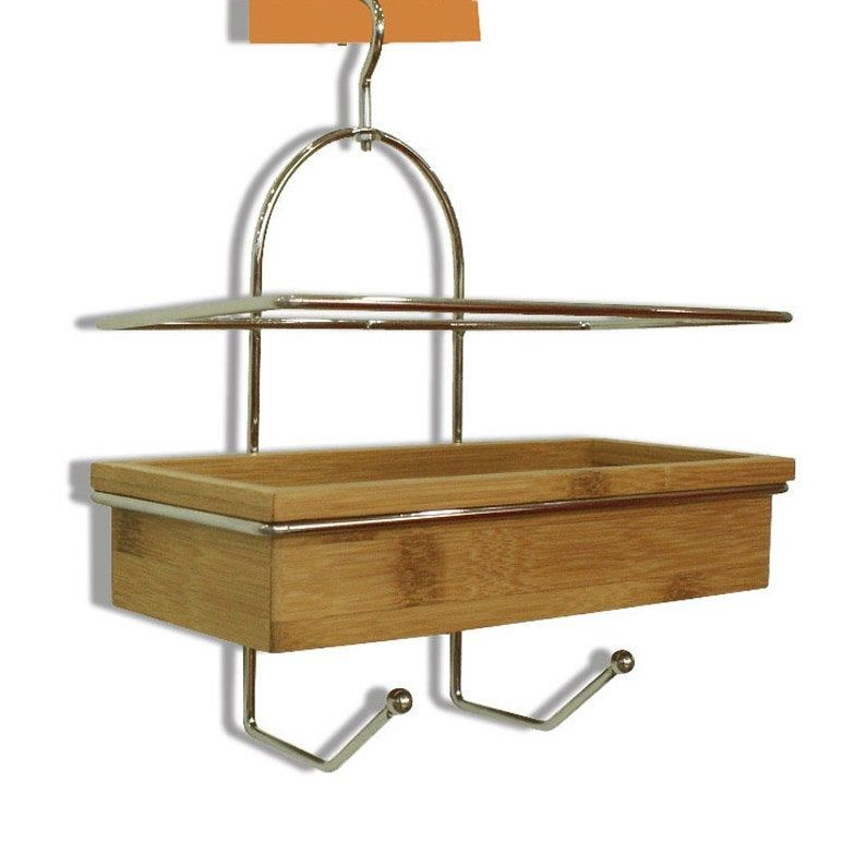 Etagere De Bain Douche A Suspendre Naturel Wellness Etagere Douche Etageres Suspendues Douche