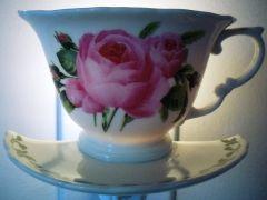 Tea cup nightlight.