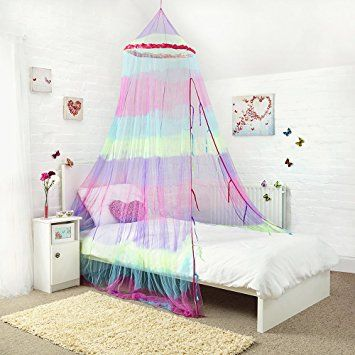 25 Princess Bed Canopy Stunning Rainbow Childrens Bed Canopy
